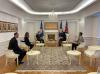 Predsednica Osmani dočekala je na oproštajnom sastanku šefa Kancelarije UNICEF-a na Kosovu g. Murata Sahina