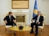 Presidenti Thaçi priti ambasadorin e Kanadasë në Kroaci, Daniel Maksymiuk