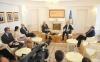 Presidenti Thaçi priti Kryeministrin e Kosovës, Ramush Haradinajn