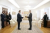 President Thaçi received the letters of credence of the new Hungarian Ambassador, Jozsef Bencze