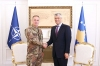 President Thaçi awarded the Military Medal for Service in Kosovo to the KFOR Commander