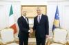 Presidenti Thaçi pranoi kredencialet e ambasadorit të ri të Italisë