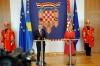 Croatian President Kolinda Grabar-Kitarovic congratulates President Thaçi on the 10th Anniversary of Independence