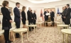 President Thaçi decorates the Prime Minister of the Republic of Albania with the Presidential Medal