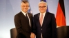 German President Frank-Walter Steinmeier congratulates President Thaçi on the tenth anniversary of the independence