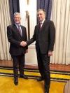 Presidenti i Malit të Zi, Fillip Vujanoviq e uron presidentin Thaçi për dhjetëvjetorin e Pavarësisë së Kosovës