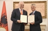 Presidenti Thaçi dekoron kryeministrin e Republikës së Shqipërisë me medaljen presidenciale
