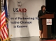 President Jahjaga's speech at the ceremony marking the 15th anniversary of the establishment of the USAID Kosovo Mission