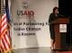 Fjala e Presidentes Atifete Jahjaga në ceremoninë e shënimit të 15-vjetorit të themelimit të Misionit të USAID në Kosovë