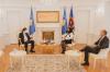 Ambasadori i Austrisë, Weidinger, solli urimet e Presidentit të Austrisë dërguar Presidentes Osmani 2