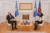 Presidentja Osmani priti në takim ambasadorin e Norvegjisë, Jens Erik Grondahl