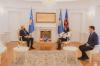 Presidentja Osmani priti në takim ambasadorin e Norvegjisë, Jens Erik Grondahl 2