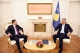 President Thaçi meets Albanian Minister of Finance, they discuss increased trade exchange