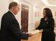Presidentja Jahjaga priti ambasadorin e Australisë, jo rezident në Kosovë, z. David Stuart