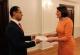 Predsednica Jahjaga je primila ambasadora Republike Letonije u Ljubljani, nerezidentnog za Kosovo, Bahtijora Hasansa