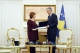 President Thaçi awards Baroness Ashton for her contribution in the dialogue and approximation with the EU