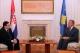 The new Croatian Ambassador presents his credentials