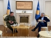 President Thaçi received General Rama, requests KSF COVID-19 mobilisation