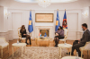 U.d. Presditentja Osmani priti në takim të ngarkuarën me punë të Luksemburgut