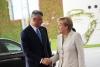 Presidenti Thaçi zhvillon bisedë telefonike me kancelaren Merkel