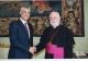 President Thaçi meets Vatican's Secretary for Relations with States, Archbishop Gallagher