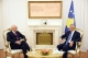 President Thaçi received the new Head of the World Bank Mission in Kosovo, Marco Mantovanelli