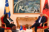 VD predsednice Kosova dr Vosju Osmani dočekao predsednik Skupštine Albanije Gramoz Ruçi