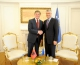 President Thaçi thanked former President Topi for his commitment for Kosovo