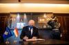 U.d. Presidentja Osmani pranoi letrat kredenciale të ambasadorit të ri të Luksemburgut, Patrick Heck