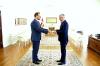 Presidenti Thaçi pranoi letrat kredenciale nga ambasadori i Danimarkës