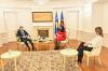 VD predsednice Osmani dočekala na sastanku italijanskog ambasadora Nicolu Orlanda