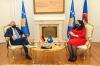 VD predsednice Osmani dočekala je na sastanku nemačkog ambasadora Jorna Rohdea