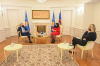 U.d. Presidentja Osmani priti në takim Ambasadorin Gjerman, Jorn Rohde