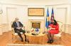 U.d. Presidentja Osmani priti në takim Ambasadorin Italian, Nicola Orlando