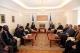 Predsednik Pacolli je docekao delegaciju Univerzalne Federacije Mira