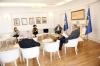 Presidenti Thaçi u informua nga drejtori i IKSHP-së për zhvillimet më të reja rreth pandemisë së virusit COVID-19