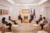 U.d. Presidentja Vjosa Osmani priti në takim zëvendëskryeministrin e parë të Maqedonisë së Veriut, z.Artan Grubi