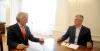 Presidenti Thaçi pret në takim lamtumirës ambasadorin slloven Miljan Majhen