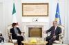 Presidenti Thaçi dhe Ministrja e Mbrojtjes së Italisë flasin për FSK-në