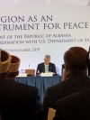 "President Thaçi's speech at the ""Religion as a peace instrument"" in Tirana"