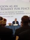 """Govor predsednika Thaçija na konferenciji """"Religija kao instrument mira"""" u Tirani"""