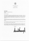 President Thaçi received a letter from the President of the USA, Donald Trump