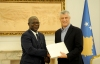 President Thaçi received the letter of congratulations and the reconfirmation of the recognition by the President of Guinea-Bissau