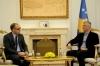 Presidenti Thaçi pranoi letrën e urimit nga presidenti francez, Emmanuel Macron