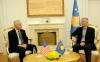 Presidenti Thaçi: SHBA-të, rol përcaktues në lirinë dhe pavarësinë e Kosovës