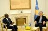Presidenti Thaçi pranoi letër urimin dhe rikonfirmimin e njohjes nga presidenti i  Guinea-Bissau
