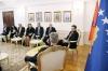 Presidenti Thaçi dhe ministri Cakaj flasin për koordinimin ndërmjet Kosovës dhe Shqipërisë