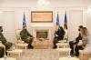 U.d. Presidentja Osmani i ka ndarë dekoratën Medalje Presidenciale Ushtarake Njësitit të Kërkim Shpëtimit të FSK-së