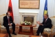 President Pacolli receives the Albanian Deputy Minister and Minister of Foreign Affairs Mr. Edmond Haxhinasto