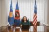 U.d. Presidentja Vjosa Osmani mbajti sot takim virtual me drejtoreshën e USAID-it, znj. Lisa Magno